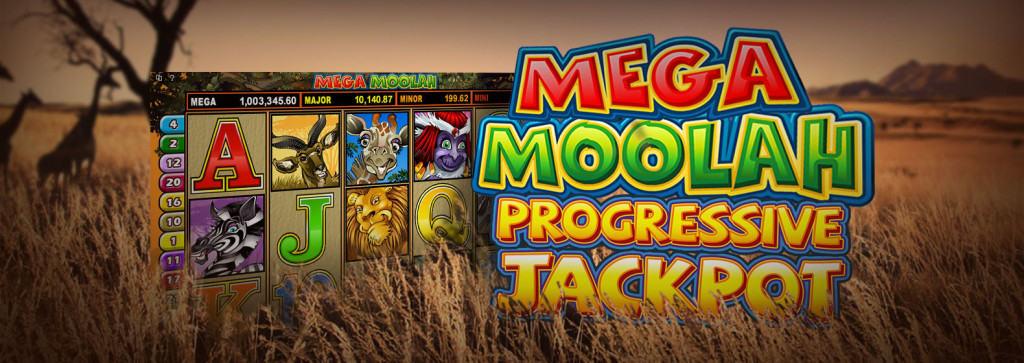Mega Moolah slotgame van Betway